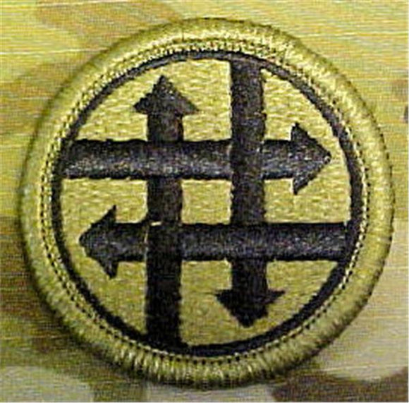 4th Sustainment Command Multicam  OCP Patch