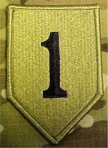 1st Infantry Division MultiCam  OCP Patch