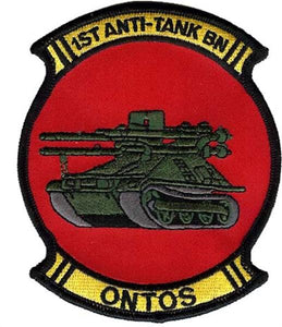 "1st Anti Tank Battalion ""ONTOS"" USMC PATCH"
