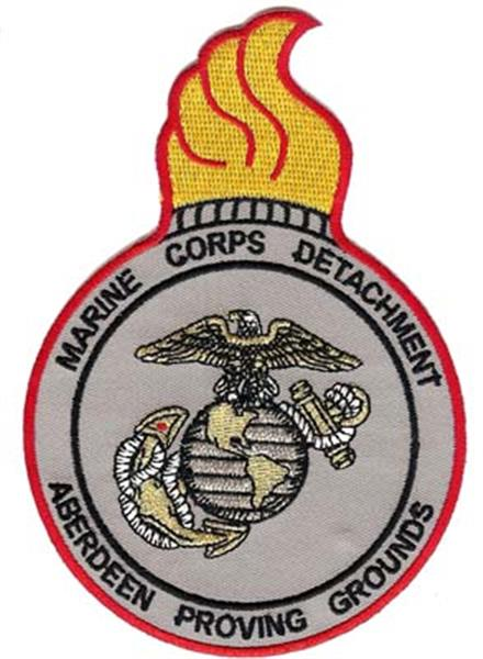 Aberdeen Proving Grounds USMC Patch
