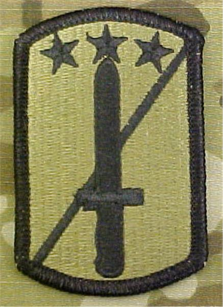 170th Infantry Brigade Multicam  OCP Patch