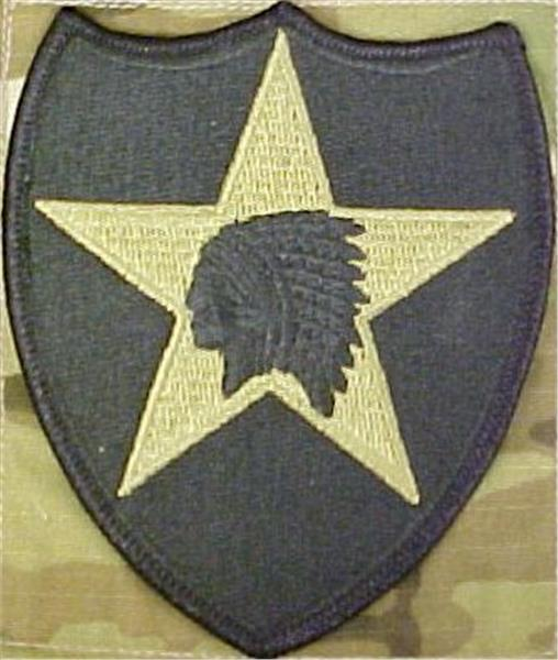 2nd Infantry Division MultiCam  OCP Patch