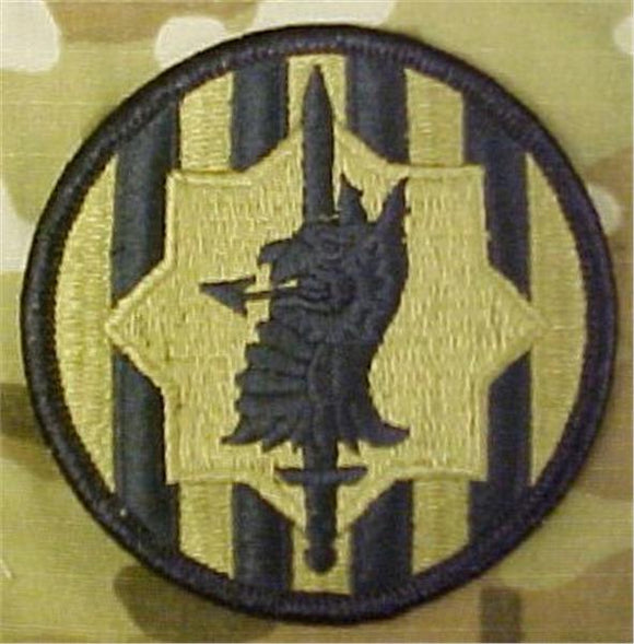 89th MP Brigade (Military Police) MultiCam  OCP Patch
