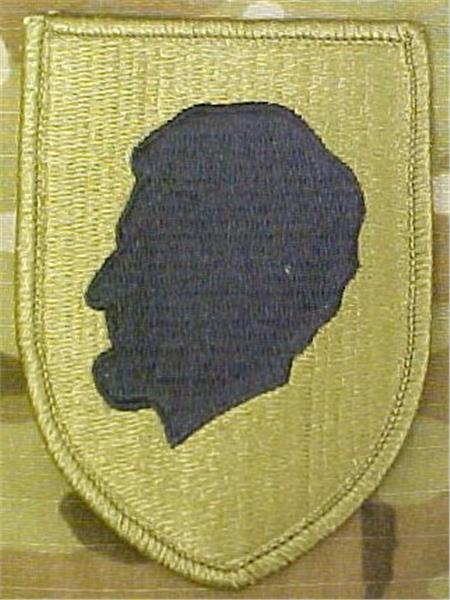 Illinois Army National Guard MultiCam  OCP Patch