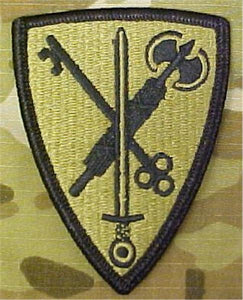 42nd MP Brigade (Military Police) MultiCam  OCP Patch