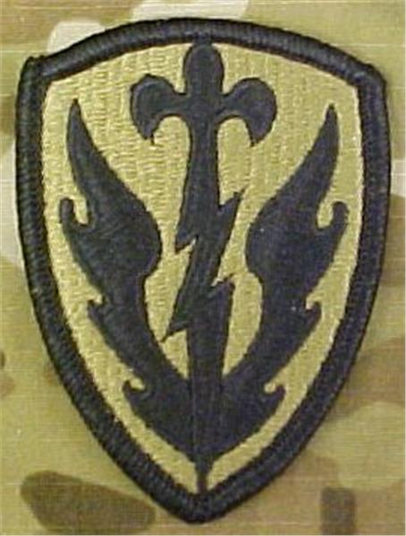 504th Battlefield Surveillance Brigade MultiCam OCP Patch