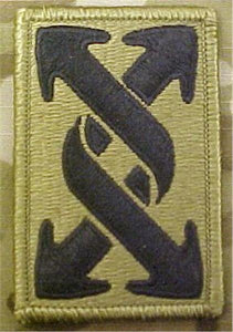 143rd Sustainment Command Multicam OCP Patch (143rd Transportation)