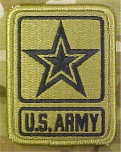 U.S. Army Star Logo Multicam  OCP Patch