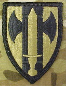 18th MP Brigade (Military Police) Multicam  OCP Patch