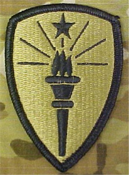 Indiana National Guard Multicam  OCP Patch