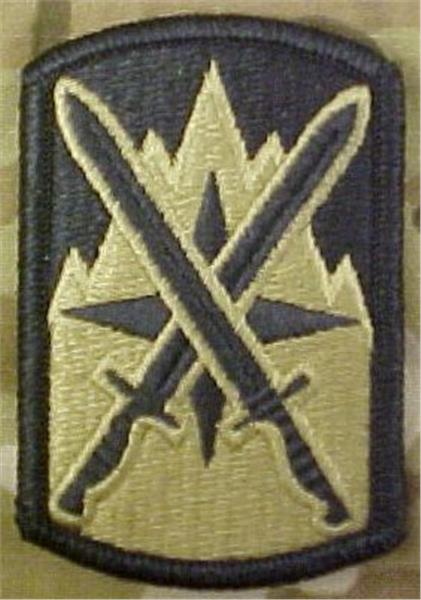 10th Sustainment Brigade Multicam  OCP Patch