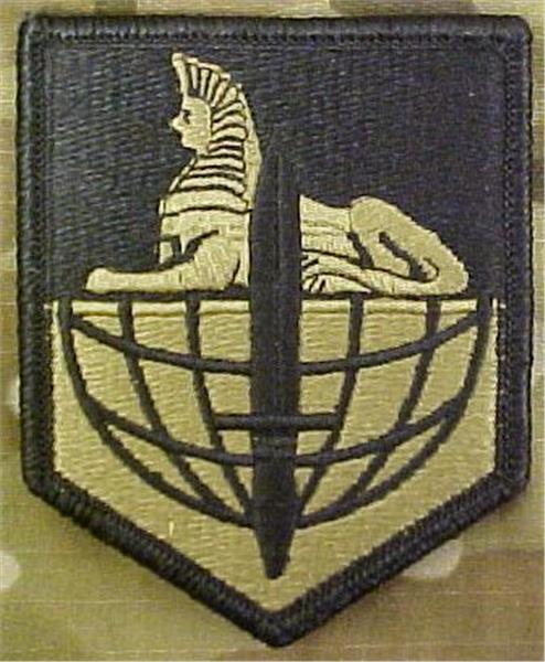 902nd Military Intelligence Group Multicam  OCP Patch