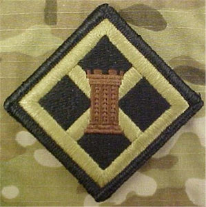 926th Engineer Brigade Multicam  OCP Patch