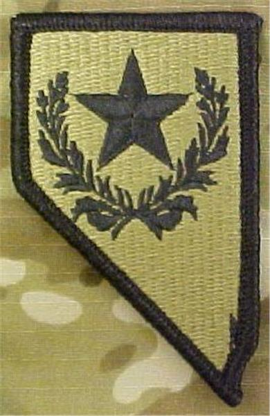 Nevada Army National Guard Multicam  OCP Patch