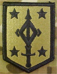 4th Maneuver Enhancement Brigade Multicam  OCP Patch