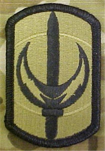 228th Signal Brigade MultiCam  OCP Patch