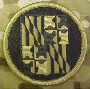 Maryland Army National Guard Multicam  OCP Patch