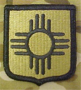 New Mexico Army National Guard Multicam  OCP Patch