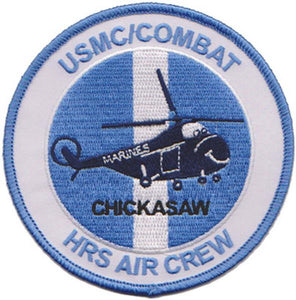 "Korea HRS ""CHICKASAW"" Combat Air Crew USMC Patch"