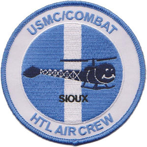"Korea HTL ""SIOUX"" Combat Air Crew USMC Patch"