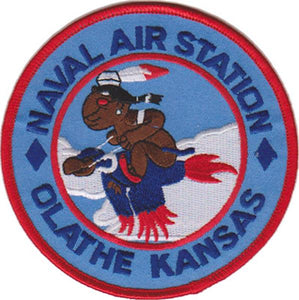 "NAS-OLATHE ""OLATHE KANSAS"" USMC Patch"