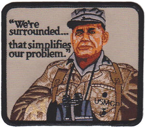 We're Surrounded... USMC Patch