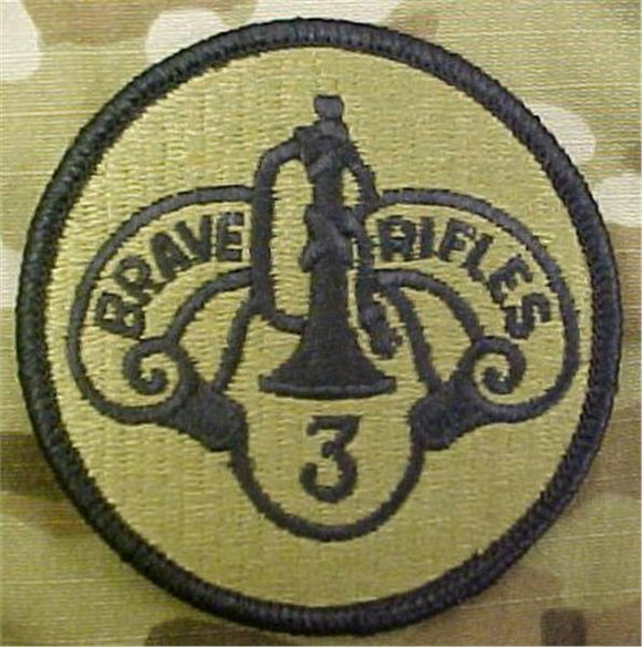 3rd Armored Cavalry Regiment (ACR) Multicam  OCP Patch