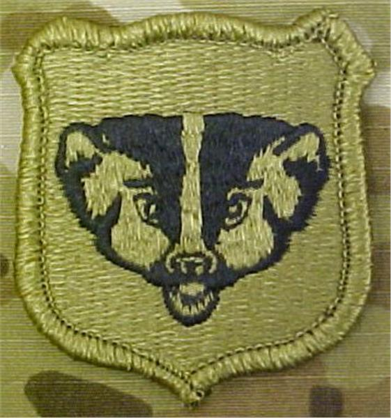 Wisconsin Army National Guard Multicam  OCP Patch