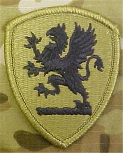 Michigan Army National Guard Multicam  OCP Patch