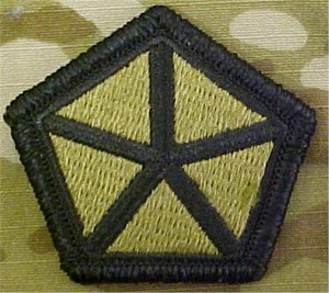 5th Corps Multicam  OCP Patch