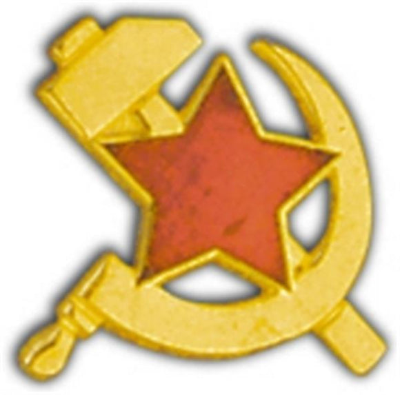 Hammer and Sickle Small Hat Pin