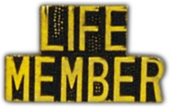 LIFE MEMBER Small Hat Pin