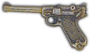 Luger Small Hat Pin