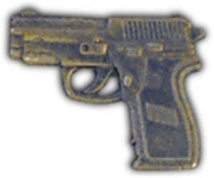 9MM Automatic Small Hat Pin