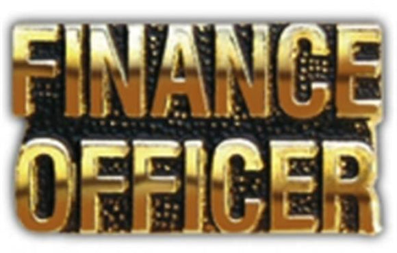FINANCE OFFICER Small Hat Pin