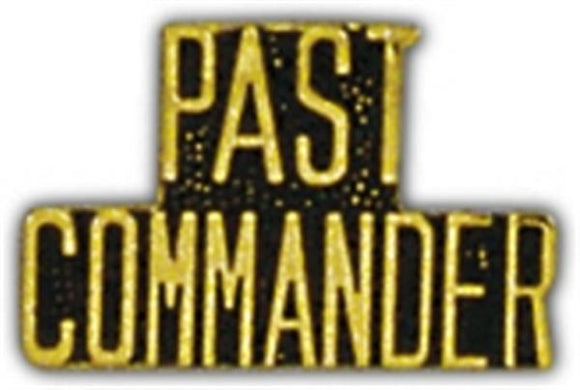 PAST COMMANDER Small Hat Pin