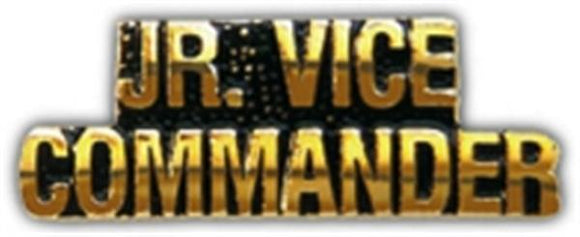 JR VICE COMMANDER Small Hat Pin