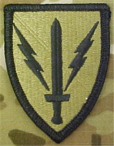 201st Battlefield Surveillance Brigade MultiCam OCP Patch