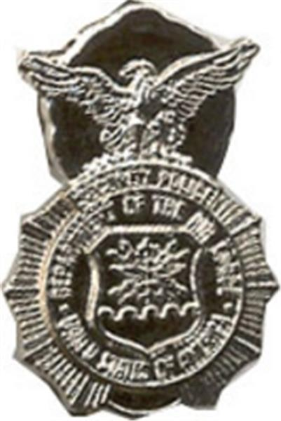 USAF Security Police Small Hat Pin