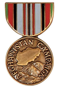 Afghanistan Campaign Mini Medal Small Pin