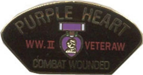 WW II Purple Heart Small Hat Pin
