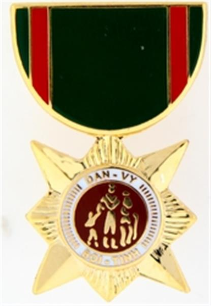 RVN Civil Action 2nd Award Mini Medal Small Pin