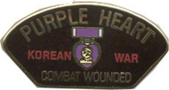 Korean Purple Heart Small Hat Pin