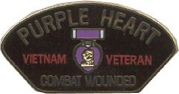 Vietnam Purple Heart Small Hat Pin