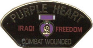 Iraq Purple Heart Small Hat Pin