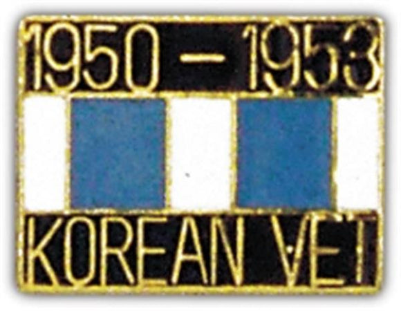 Korean Veteran Ribbon Small Hat Pin