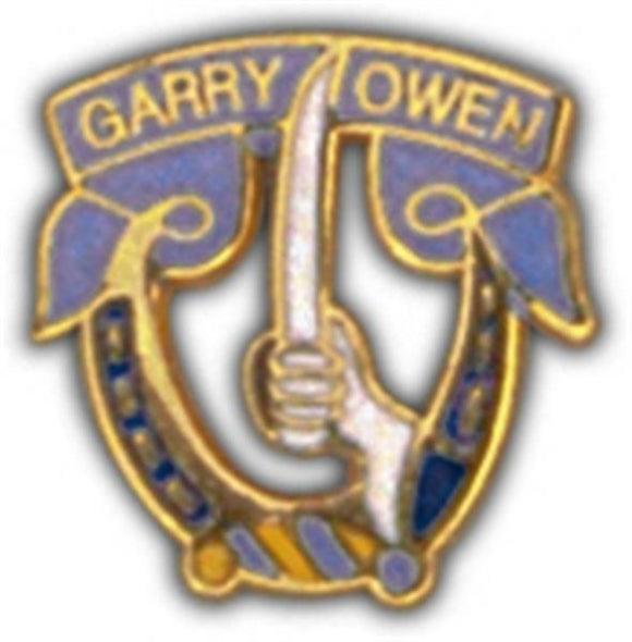 Garry Owen 7th Cavalry Small Hat Pin