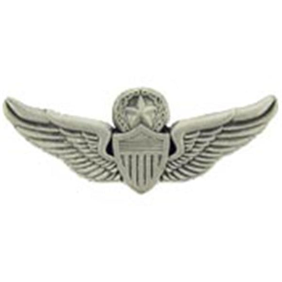 Master Aviator Wings Small Hat Pin