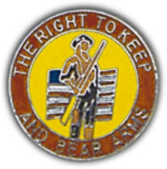 Right To Bear Arms Small Pin