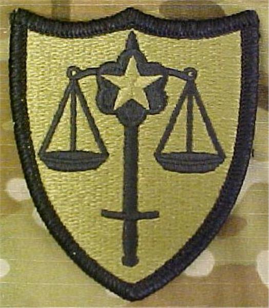USA Trial Defense Service Multicam  OCP Patch